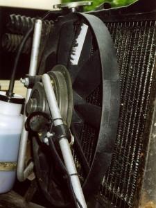 Photo of Kenlowe Fan on Triumph Spitfire 1500