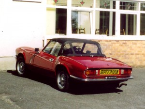 Photo of Triumph Spitfire - Rear View