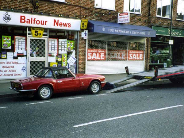 Photo of Triumph Spitfire - Head Gasket problems in Oxted 1